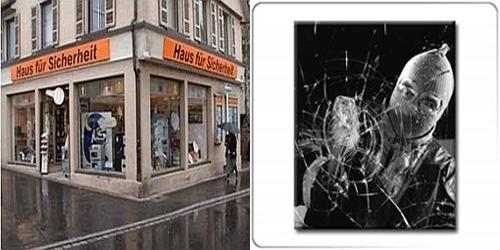 Haus Für Sicherheit Jede Minute Wird In Deutschland über Haustüren, Fenster  Oder Terrassentüren Eingebrochen. Sicherheitsexperten Von Polizei Und ...